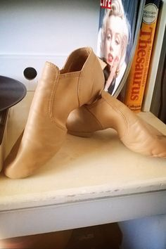 Capezio Stretch Jazz Ankle Boot Size 8 by vintageprisss on Etsy, $25.00