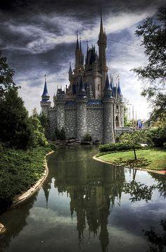 Disney World Castle - Orlando, Florida.