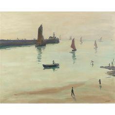 Albert Marquet, Sortie de la Porte de Chaume (les sables-d'olonne), 1933
