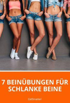 7 Beinübungen für schlanke Beine | eatsmarter.de
