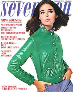 Colleen Corby began modeling at the age of 11. She appeared on a record fifteen 'Seventeen' covers during the 1960s, but her career faded once she became too old for the teen market.