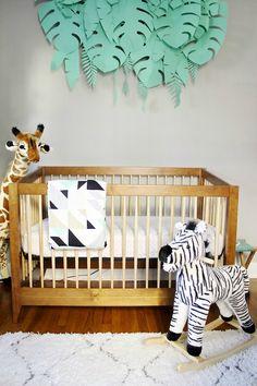 Decoración Safari para el bebé. Decoración bebés, Decoideas.net