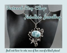 Learn about the Featured Etsy Shop: Natalia's Jewellry and enter to win a #giveaway for a pendant! by Katie Crafts - Crafting, Sewing, Recipes and More! http://katiecrafts.com