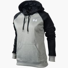 Womens Under Armour Color Blocked Hoodie