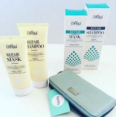 L'biotica - professional therapy - shampoo and mask repair - szampon i odżywka do włosów suchych i zniszczonych