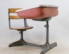 One type of desk I had in grade school and high school