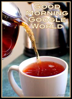 #goodmorning   #tea  Have a blessed day! #photography  by Ernie Kasper #google #hot #water #red #kettle