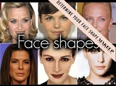 How To Determine Your Face Shape | Makeup tutorials and best makeup tips at Makeup Tutorials. | #makeuptutorials | makeuptutorials.com