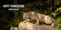 """""""From our family to yours! Happy Thanksgiving to the best fans in college football."""