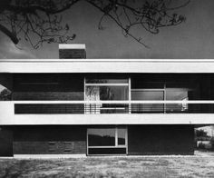 House Wahrmann (1968) in Bochum, Germany, by Roman Reiser