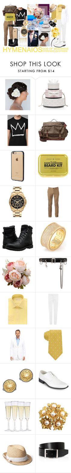 """Hymenaios"" by sydsydrox ❤ liked on Polyvore featuring Kate Spade, Junk Food Clothing, FOSSIL, Incase, Michael Kors, Urban Pipeline, Timberland, King Ice, Homme Boy and Etro"