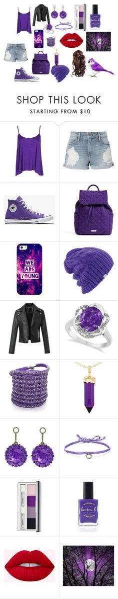 """So Don't Want to Go to School"" by countrycowgirl-1718 on Polyvore featuring Boohoo, Frame, Vera Bradley, Casetify, Coal, Allurez, Sif Jakobs Jewellery, Simone I. Smith, Color My Life and DANNIJO"