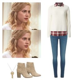 A fashion look from May 2017 featuring Dorothy Perkins, blue jeans and leather booties. Browse and shop related looks. Betty Cooper Style, Betty Cooper Aesthetic, Betty Cooper Outfits, Teenager Outfits, Outfits For Teens, Casual Outfits, Cute Outfits, Fashion Outfits, Riverdale Fashion