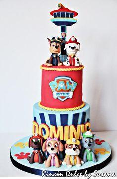 Paw Patrol Cake/Tarta Patrulla Canina - Cake by rincondulcebysusana