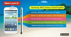 Samsung galaxy brand, One of the popular brand in the world launched a new one Samsung Galaxy Quattro.