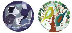 Steam Waverz // #dutchdesign #paperware #birds #papergoods #tableware