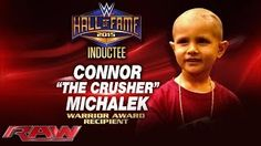 Connor Michalek to receive first-ever Warrior Award at 2015 WWE Hall of Fame