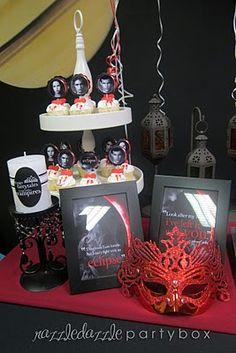 Razzle Dazzle Party Box: Theme birthday Party: Twilight Saga