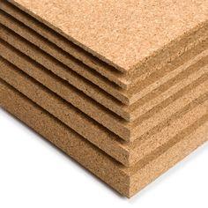 CORCHO EN PLANCHA - Presentamos en este apartado corcho natural prensado en bloques delgados o gruesos. Perfecto para revestimientos decorativos o aislamientos o para crear maquetas y manualidades.