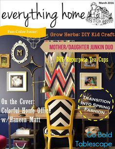 Everything Home Magazine Dec 2015 by Everything Home Magazine - issuu Teal Cups, Read Magazines, Wood Clocks, Growing Herbs, House And Home Magazine, Dimples, Diy Crafts For Kids, House Colors, Old Houses