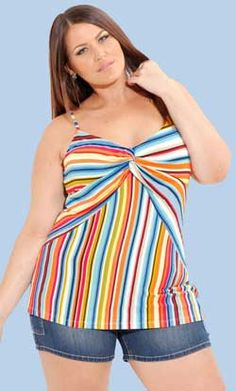 Look Beautiful with Plus Size Fashion Tops
