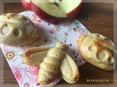 Apfelmusmuffins ohne Zucker sind ein leckeres Gebäck für Baby und Kleinkind, die wir nach diesem Rezept gern als Mini-Muffins mit Apfelmus backen