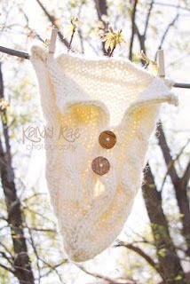 Cabled Baby Cocoon- Free Knitting Pattern by Tinkerknits