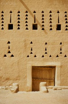 old palace at dir'aiyh, riyadh, saudiarabia