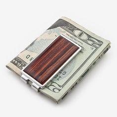 Davin & Kesler: Money Clip: Solid Cocobolo