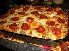 Pizza Spaghetti Casserole - HowToInstructions.Us