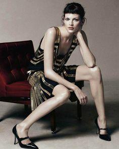 gucci flapper dress via vogue uk