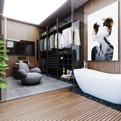The bathroom shouldn't be forgotten when creating a beautiful home.  The right mix of textures and materials can make the bathroom a relaxing getaway.  Keepin