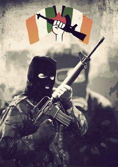 Irish Republican Army by Avt-Cccp on DeviantArt...Happy St. Patrick's Day
