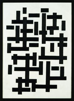 ..:: Temple of Light ::..: Theo van Doesburg [a very quilt-y painting]