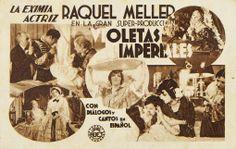 """Programa de mano de cine de la película """"Violetas imperiales"""", estrenada en España en el año 1933"""