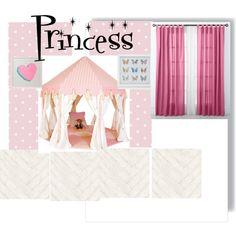 Princess room by vonda-brooks on Polyvore featuring interior, interiors, interior design, home, home decor, interior decorating, Beacon Looms and Andrew Martin