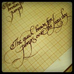 Calligraphy & Lettering by Jackson Alves, via Behance