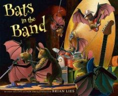 JJ STORIES LIE. When the weather warms up, bats take advantage of an empty theater to stage a concert.