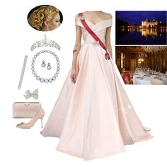 Fashion set King Nicolas and Queen Rose held a State Dinner in honor of Greek's President created via