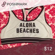 VS PINK SPORTS BRA 🌸 ALOHA BEACHES 🌸 Comfy lounge around sports bra PINK Victoria's Secret Other