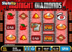 A luxurious video #slotmachine Midnight Diamonds from #Bally is amazing! This slot machine has 5 reels and 30 paylines. The game features bonus rounds, wild and scatter symbols, free spins. Style of this game is quite impressive.
