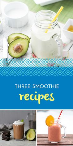 The avocado has more than one trick up its sleeve. Did you know it's the perfect addition to your smoothies and health drinks? Its silky, nutritious richness makes it the ideal fruit to quench your thirst and keep you smiling. Healthy Smoothies, Healthy Drinks, Smoothie Recipes, Healthy Recipes, Healthy Food, Yummy Alcohol, Avocados From Mexico, Alcoholic Drinks, Beverages