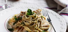 Linguine Piccole with Grilled Swordfish  | Italiers