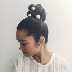 A bun pin is the must-try hair accessory of the season – discover our new Jen Atkin styles today!