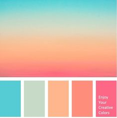 Forest Green Archives - Million Shade color palette Sunset Color Palette, Pastel Colour Palette, Sunset Colors, Colour Pallette, Pastel Colors, Summer Colour Palette, Palette Art, Orange Palette, Rainbow Palette