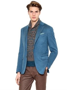 CANALI CASHMERE TWO-BUTTON JACKET $ 2764.00 ITEM CODE 60I-4PK001