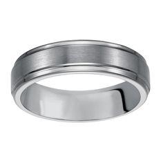 <li>Tungsten carbide wedding band</li><li>Tungsten jewelry</li><li><a href='http://www.overstock.com/downloads/pdf/2010_RingSizing.pdf'><span class='links'>Click here for ring sizing guide</span></a></li>