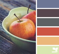 The Autumn Palette | 10 Color Palettes (and HEX Codes) Perfect for the Autumn/Fall Season.  For more color ideas, follow us at http://www.pinterest.com/duoparadigms