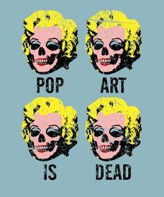 Pop art is dead Comic Kunst, Comic Art, Art Is Dead, Dead Pictures, Pop Art Girl, Pop Art Design, Art Designs, Design Ideas, Retro Pop