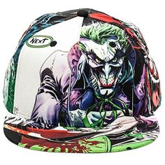 9092c987455 DC Comics The Joker Sublimated All Over Print Snapback Cap Store